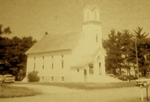 country church, church, old church,
